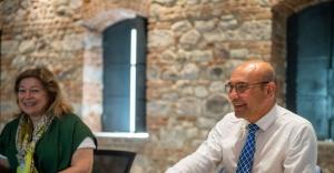 Başkan Soyer'den Selçuk Yaşar Müzesi'ne ziyaret