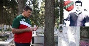 Başkan Tugay'dan unutulmaz futbolculara vefa