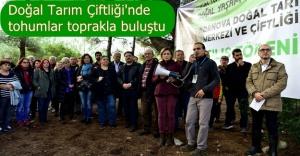 """Bornova'da """"Doğal tarım dönemi"""" başladı"""