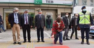 Bornova'da kırmızı çizgi uygulaması