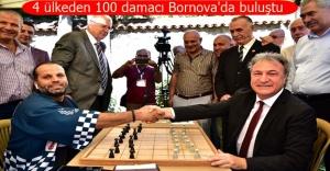 Bornova'da Uluslararası Dama Turnuvası heyecanı