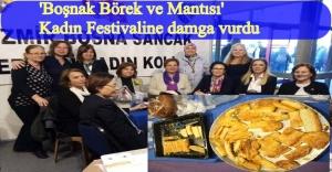 BOSNA SANCAK DERNEĞİ 'KADIN FESTİVALİ'NDE İLGİ NOKTASI OLDU