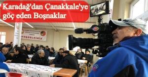 BOŞNAK BELGESEL ÇEKİMİ ÇANAKKALE'DE DEVAM ETTİ