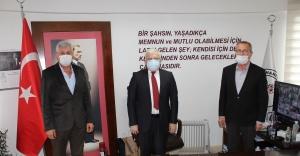 BOŞNAK DERNEKLERİ'NDEN BAŞKAN DEVECİLER'E ZİYARET