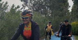 Bostanlıspor Bisikletçileri Dikili Bademli'de doğayla buluşacak