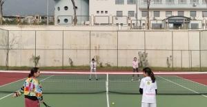 Bostanlıspor teniste hedef ilk şampiyonluk