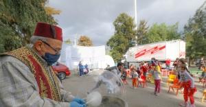 Buca Belediyesi'nden çadır kentin miniklerine hafta sonu sürprizi