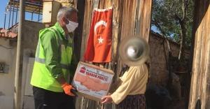 BURHANİYE'DEN BİN 300 VATANDAŞA YARDIM PAKETİ