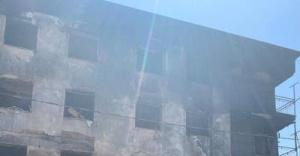 Büyükşehir Belediyesi'nden yangınzedelere yardım