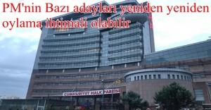 CHP bazı adayları yeniden oylanabilir