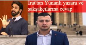 CHP Buca eski Gençlik Kolları Başkanı İrat'tan 'YUNAN'lı yazara cevap