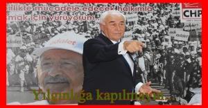 CHP Büyükşehir Belediye Başkan Aday Adayı Kemal Karataş, aday adaylarına seslendi: CHP'DE YILGINLIĞA YER YOK
