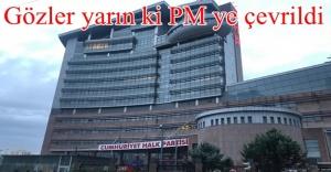 CHP'de gözler PM'de