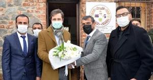 CHP İl Başkanı Yücel'den Seyyar Meclisi'ne katıldı
