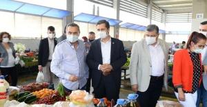 CHP İZMİR BU KEZ SEMT PAZARLARINDAN SESLENDİ!