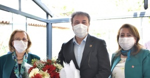 CHP'li kadınlardan Başkan İduğ'a övgü