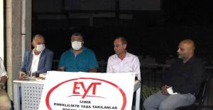 """CHP'li Sındır, """"emeklilik haktır gasp edilemez!"""""""