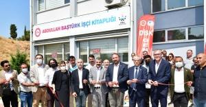 Çiğli'de Abdullah Baştürk İşçi Kitaplığı Açıldı