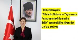 CKD Genel Başkanından, bazı STK'lara itiraz geldi
