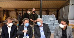 Deprem moral merkezi: Bornova
