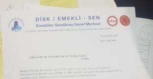 DİSK / EMEKLİ - SEN TİRE ŞUBESİ KURULDU