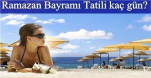 Dokuz günlük tatil kararı turizmciyi sevindirdi