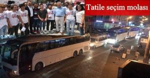 Edremit'ten İstanbul'a 87 otobüs