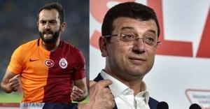 Galatasarayın eski milli futbolcusu Adın'dan İmamoğlu'na destek