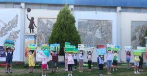 """Gaziemirli çocuklar """"Zafer""""in resmini çizecekler"""