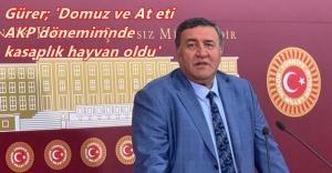 """GÜRER"""" GIDA DENETİMLERİ BELEDİYELERE VERİLSİN"""""""