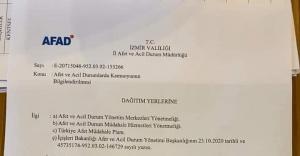 İzmir'de Başkanlara ve Muhtarlara konuşma yasağı geldi