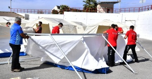 İzmir gönüllüleri doğal afetlere hazırlanıyor