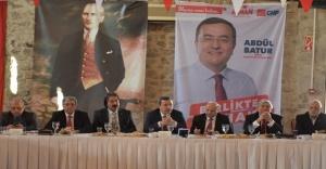 """İzmir Medya Platformu İle Buluşan Abdül Batur  """"Konak'a Hakimiz"""""""