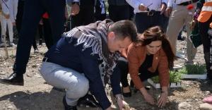 İzmir Milletvekili Sevda Erdan Kılıç Menemen'i ziyaret etti