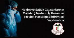 İzmir Tabip Odası'ndan açıklama