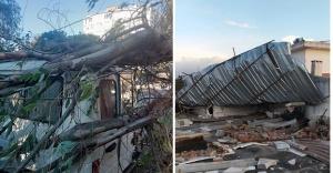 İzmir'de şiddetli rüzgâr yaşamı olumsuz etkiledi
