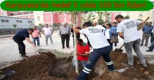 Karşıyaka Belediyesi'nden ağaçlandırma seferberliği
