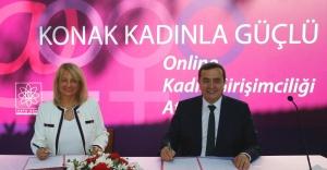 Konak'ta kadınlar için e-okul dönemi