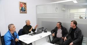 Menderes'te Muhtarlar Masası Kuruldu