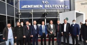 Menemen'de Belediye Başkan Vekili Aydın Pehlivan görevine başladı