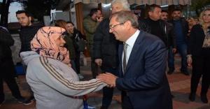 MESUT ERGİN'İ ALTINOVA'DA BİNLER KARŞILADI