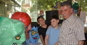 Ödemiş'te 3. Çevre ve Geri Dönüşüm Proje Yarışması Sergisi Açıldı