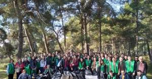 Ormanda çevre temizliği
