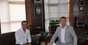 Ovacık Belediye Başkanı'ndan Başkan Aksoy'a ziyaret