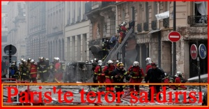 Paris'te patlama! Fransa'nın başkentinde panik (Terör saldırısı mı?)