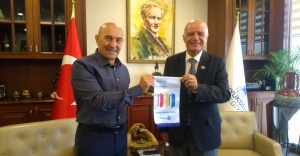 ROTARY FEDERASYON BAŞKANI ERTAN SOYDAN'DAN TUNÇ SOYER'E NEZAKET ZİYARETİ