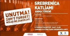 Srebrenica Katliamı'nın  kurbanları Bornova'da anılacak