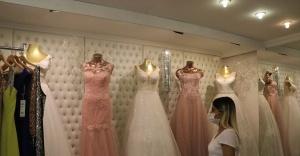 Tarihi çarşıda düğün sevinci
