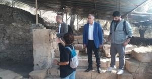 TARİHİ KENTLER BİRLİĞİ ÇEKÜL VAKFI'NDAN ANTANDROS'A DESTEK
