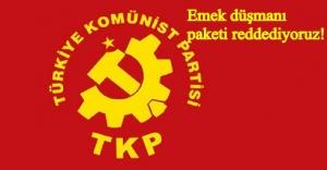 TKP'den Albayrak'ın açıkladığı programa eleştir!